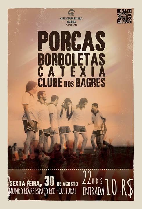 guerrilha gia convida. porcas boroboletas